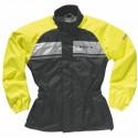 Veste de pluie moto jaune fluo difi Seismo Flash