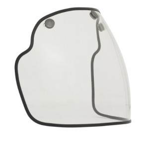 Ecran à clipser pour casque DMD incolore