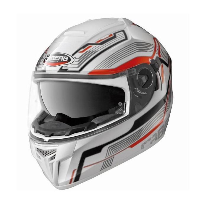 Casque integral Caberg Ego Streamline red