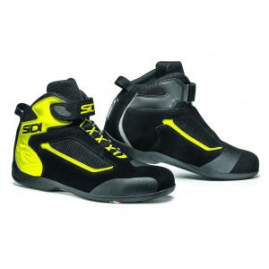 Chaussures moto Sidi Gas jaune fluo