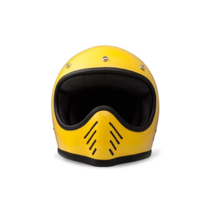 casque dmd seventy five 1975 jaune integral moto cross vintage. Black Bedroom Furniture Sets. Home Design Ideas