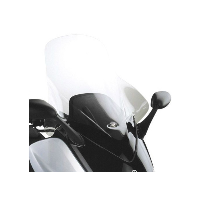 bulle haute givi yamaha t max 500. Black Bedroom Furniture Sets. Home Design Ideas
