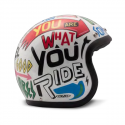 Casque DMD Word - Jet moto vintage