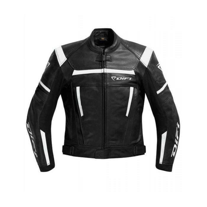 Blouson moto Difi Jarama cuir sport