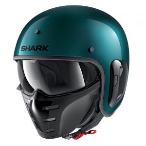 Casque Shark S-Drak vert Metal