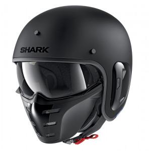 Casque Shark S-Drak noir mat