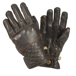 Gants moto vintage By City Cafe marrons