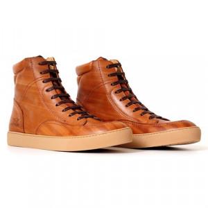 Chaussures Rokker City Sneaker moto en cuir