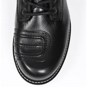 Chaussures John Doe Iron Black de moto