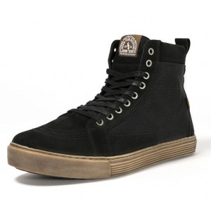 Chaussures John Doe Neo Black brown sneaker moto