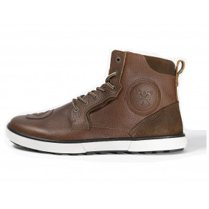 Chaussure moto John Doe Shifter brown en cuir