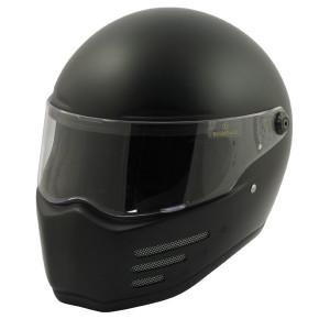 Casque Bandit Fighter noir mat de moto homologué