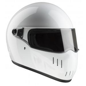 Casque Bandit EXX blanc moto streetfighter