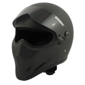 Casque Bandit Crystal noir mat moto street fighter