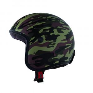 Casque Caberg Freeride Camouflage Commander vert militaire
