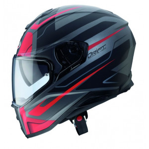 Casque Caberg Drift Shadow noir rouge