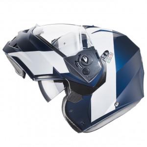 Casque modulable Caberg Duke II Impact bleu