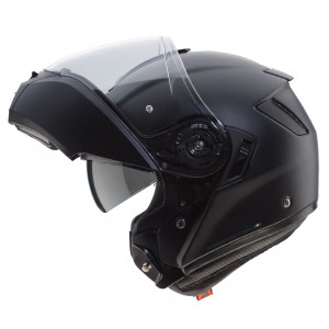 Casque Caberg Levo noir mat modulable moto en fibres