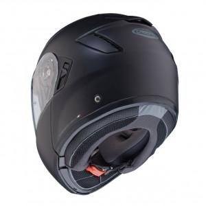 Casque Caberg Levo noir mat modulable moto
