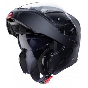 Casque Caberg Horus noir mat modulable moto