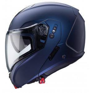 Casque Caberg Horus bleu mat modulable moto