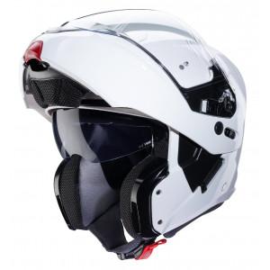 Casque Caberg Horus blanc modulable moto et scooter