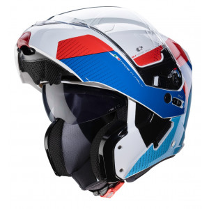 Casque Caberg Horus Scoot blanc modulable moto scooter