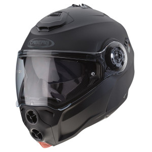 Casque Caberg Droid noir mat modulable moto scooter