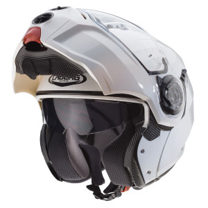Casque Caberg Droid blanc modulable moto scooter