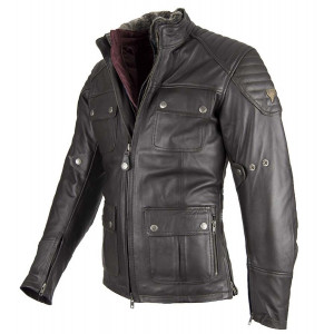 Veste By City Legend II Jacket cuir moto vintage