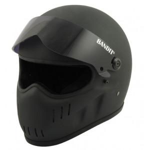 Casque bandit XXR noir mat street fighter moto
