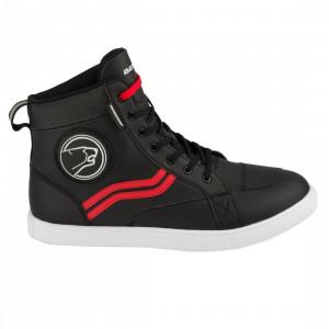 Chaussures moto Bering Stars evo noir et rouge