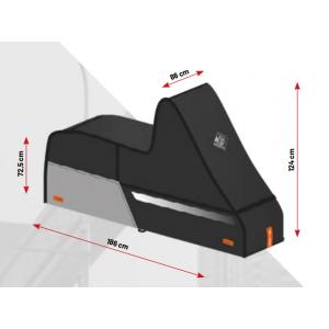 Housse de protection moto et scooter Tucano Urbano Start noire
