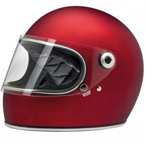Casque Biltwell Gringo S rouge mat flat red