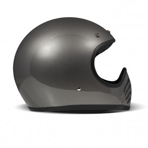 Casque DMD SEVENTY FIVE 75 GREY integral moto vintage 1