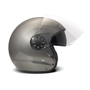 Casque DMD A.S.R JET Grey moto scooter en fibre 1