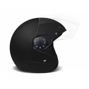 Casque DMD ASR JET Noir mat moto scooter 1