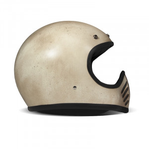 Casque Dmd 75 seventy five Arrow cream intégral motocross vintage 1