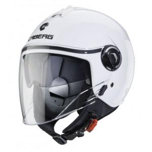 Casque caberg riviera V4 blanc scooter moto 1