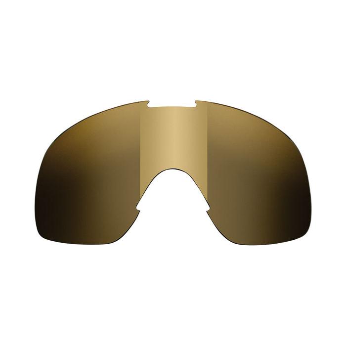 Ecran lunettes Biltwell Overland 2.0 marron chrome