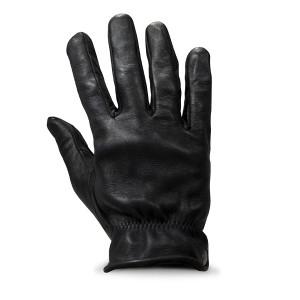 Gants DMD shield black leather en cuir noir moto scooter 1