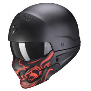 Casque Scorpion Exo Combat Samouraï moto 1
