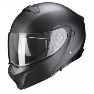 Casque Scorpion Exo 930 pearl black mat moto 1