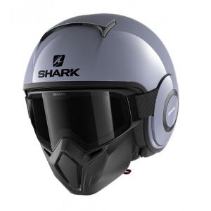Casque Shark Street-Drak graphite grey 1