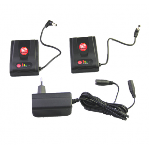 Kit batteries Gerbing pour gants Gerbing XR12, T12 et W12 avec chargeur