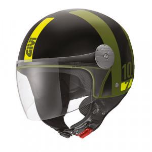 Casque Givi Mini-J 10.7 Concept noir mat jaune
