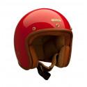 Casque Hedon rouge - Casque moto vintage