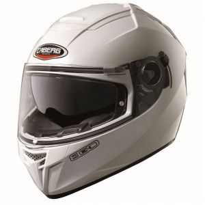 Casque Caberg Ego blanc intégral moto