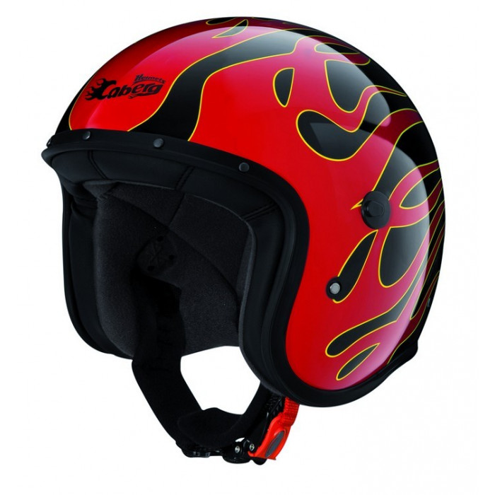 Casque jet Caberg Freeride Flame
