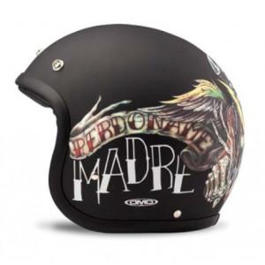Casque DMD Vida loca - Jet moto vintage